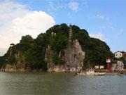 贝博安卓风景石钟山